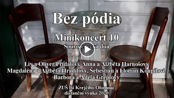 Bez pódia Minikoncert 10 - video